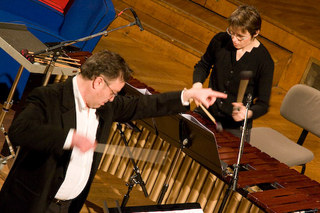 Martin Matalon et Eve Payeur, 04/2008